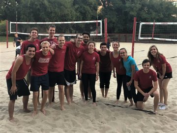 Little Big Game Volleyball Team